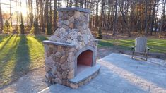 outdoor fireplace , new england round stone veneer Stone Veneer, Koi, New England, Landscapes, Sidewalk, Backyard, Natural, Outdoor, Courtyards