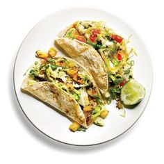 Chimichurri halibut tacos featured in article on clean eating trend and Mediterranean diet @The Denver Post
