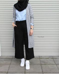 New fashion hijab style simple muslim ideas fashion style best fashion hijab casual chic ideas fashion Hijab Chic, Hijab Elegante, Casual Hijab Outfit, Ootd Hijab, Casual Outfits, Casual Jumpsuit, Casual Clothes, Casual Hijab Styles, Classy Outfits