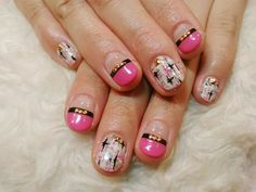 大人ビビットピンクネイル 【B-WORLD】 http://nail-beautynavi.woman.excite.co.jp/design/detail/33808?pint ≪ #nail #nails #nailart #softgel #pink #ネイル #ナチュラル #ソフトジェル≫
