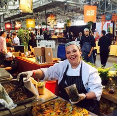 Chef Courtney at Eat Drink SF || Foxtail Catering & Events