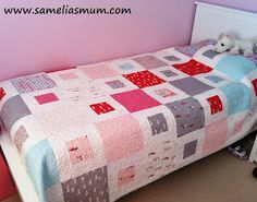 1 + 2 = Easy Quilt Pattern (Tutorial). First quilt this winter?