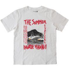 CAL O LINE キャルオーライン HAWAII POP ART ERA プリント ハワイ Tシャツ 店舗 通販