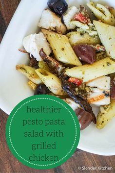 Healthier Pesto Past