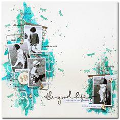 Photo Album Scrapbooking, Digital Scrapbooking Layouts, Scrapbook Designs, Scrapbook Sketches, Scrapbook Layouts, Scrapbook Cover, Baby Scrapbook, Scrapbook Pages, Mix Media
