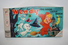 VINTAGE 1966 MILTON BRADLEY WENDY THE GOOD LITTLE WITCH BOARD GAME   eBay