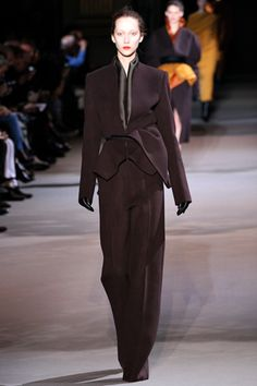 Haider Ackermann Fall 2012 Ready-to-Wear Collection Slideshow on Style.com