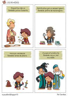 À Poudlard - Blog BD Harry Potter: Les remèdes