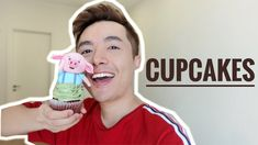#1 Hướng dẫn nặn cupcake chú lợn dễ thương // How to make cute pig fondant cake topper. - YouTube Cake Toppers, Fondant, Cupcakes, Sweets, Youtube, Cupcake Cakes, Gummi Candy, Candy, Goodies