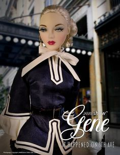 "The Studio Commissary: ""it Happened on 5th Ave"" Holiday JAMIEshow Doll by Mel Odom Now Available for pre order."
