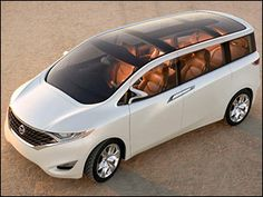 Nissan concept minivan.
