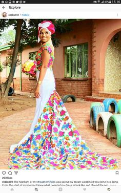 Wow African queen Dream Wedding Dresses, Bridal Dresses, Wedding Gowns, African Inspired Fashion, African Fashion, Traditional Wedding, Traditional Outfits, African Wedding Attire, Couple Outfits