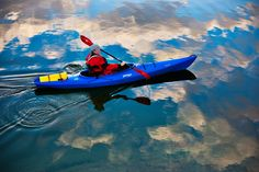 Kathy Holcombe takes her Ibis for a spin! Would love a peaceful paddle like this in the near future!!