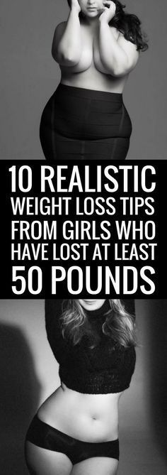 10 realistic ways to lose weight for good,