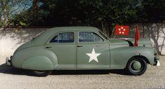 1941 Packard Clipper ARMY #AMERICANCARS #CLASSICARS