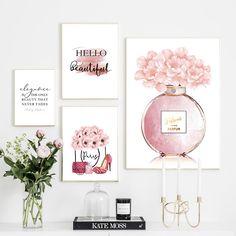 Canvas Poster, Poster Wall, Canvas Art Prints, Canvas Wall Art, Nordic Art, Flower Canvas, Peony Flower, Modern Wall Art, Abstract Wall Art