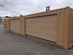 Mini Storage Container Conversion