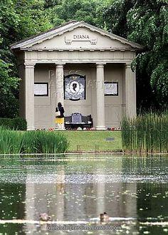 Princess Diana's Memorial.