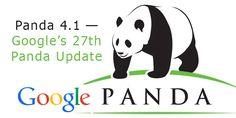 Google Has Released Its 27th Update – Google Panda 4.1 #googlealgo #googlepanda #panda4.1 Seo News, Filter Design, Seo Services, Web Development, Saga, Social Media, Website, Fictional Characters, Hyderabad