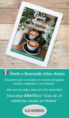 Guía de cafeterías chulas en Madrid y Barcelona Chula, Barcelona, Tray, Ds, Planes, Food, Home Decor, Viajes, Airplanes