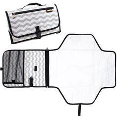 cambiadores portátiles de paseo Cadeau Baby Shower, Baby Diaper Bags, Portable, Chevron, Sewing, Knitting, Baby Showers, Amazon Fr, Backpacks