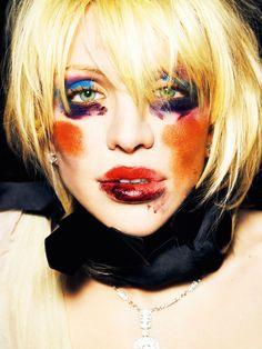 Mario Testino: Courtney Love, Los Angeles, 2006. Trabajo personal / Personal work.