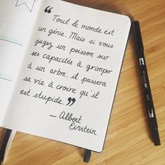 Hello everyone ! I find you today for the continuation of my father … – Anita Bobbie Einstein, Words Quotes, Life Quotes, Bullet Journal, Journal List, French Quotes, I Found You, Visual Statements, Some Words