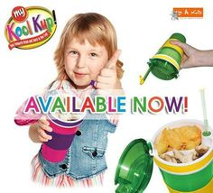 Look Kup, drink & snack all in one - www.4akid.co.za