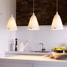 Porzellan-Hängeleuchte HECTOR *Schöne Pendelleuchten aus Porzellan, z.B. für die Kücheninsel