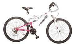 Muddyfox Womens Recoil26 Ladies Dual Suspension Mountain Bike Bicycle  Price…