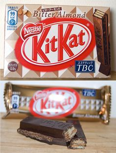 Bitter Almond Kit-Kat - Japan by kalvin1974, via Flickr