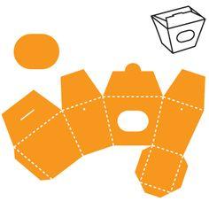 Box-Take Out crease- Xtra Large; IMC Die Cut #052