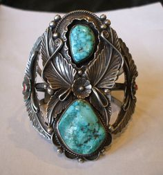 Old turquoise & Silver
