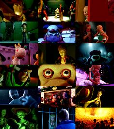 Toy Story 3 as a psychological thriller/murder mystery