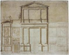 "Michelangelo's ""Project for the Façade of San Lorenzo in Florence."""