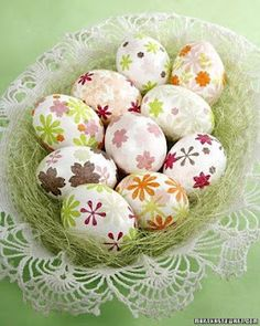 Manualidades conejo y huevos de pascua