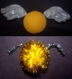 Here is a craft that every young witch, wizard or muggle can make. - Harry Potter Crafts - Golden Snitch - Crafts for Kids at BellaOnline Harry Potter Day, Harry Potter Games, Harry Potter Classroom, Art For Kids, Crafts For Kids, Arts And Crafts, Witch School, Summer Fun, Summer School