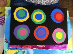 Wassily Kandinsky Study, Part 1 - Fairy Dust Teaching Preschool Arts And Crafts, Art Activities For Kids, Art For Kids, Preschool Ideas, Preschool Music, Activity Ideas, Kid Crafts, Toddler Activities, Wassily Kandinsky