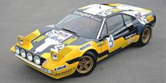 Ferrari 308 GTB rally car ! Could you imagine racing dirt roads in a Ferrari ?!
