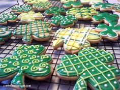 The Leprechauns were busy encouraging my daughter, Holly and her friend Karen to bake, bake, bake this past weekend. I thought you might enjoy seeing these wonderful shamrock cookies they made. Holly is the real baker of our family and always outdoes herself each and every time. She has been...