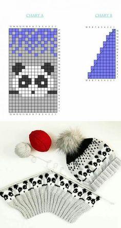 Intarsia Patterns, Fair Isle Knitting Patterns, Knitting Charts, Knitting Stitches, Knitting Designs, Free Knitting, Knitting Projects, Crochet Projects, Cross Stitch Patterns