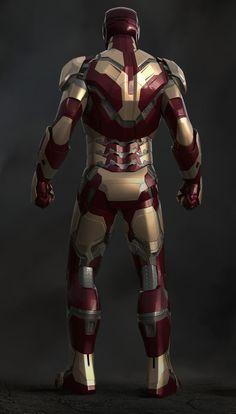 IRON MAN 3: Digital Sculpts