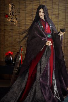 Chinese style Clothes Fullset-Red Fish-King LanLing,AS-Charm( Pretty Dolls, Cute Dolls, Beautiful Dolls, Anime Dolls, Bjd Dolls, Ball Jointed Dolls, Fashion Dolls, Fashion Outfits, Chinese Dolls