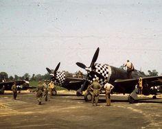 P-47,s of the 78th FG, Duxford