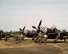 P-47,s of the 78th FG, Duxford