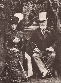 King Edward VII and Queen Alexandra, c.1908