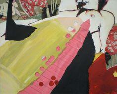 Serie Kama de Rosalia Malaccorto  1/3, 2010 Acrílico sobre tela 40 x 50 cm.   #PuntoVero