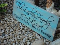 Personalized Family Name Established Sign by Timberlinewoodworks, $46.00