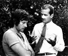 BEHIND THE SCENES | Chinatown | Director Roman Polanski & Jack Nicholson, Chinatown, 1974.