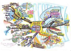 Drawing an Idea Map to Spark Creativity